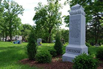 Slave memorial photo